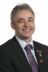 RASWA Treasurer Dudley Elliott