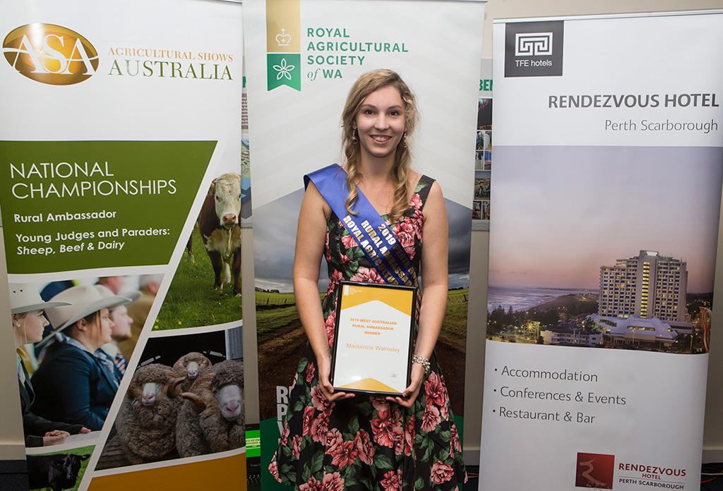 2019 Rural Ambassador Mackenzie Walmsley
